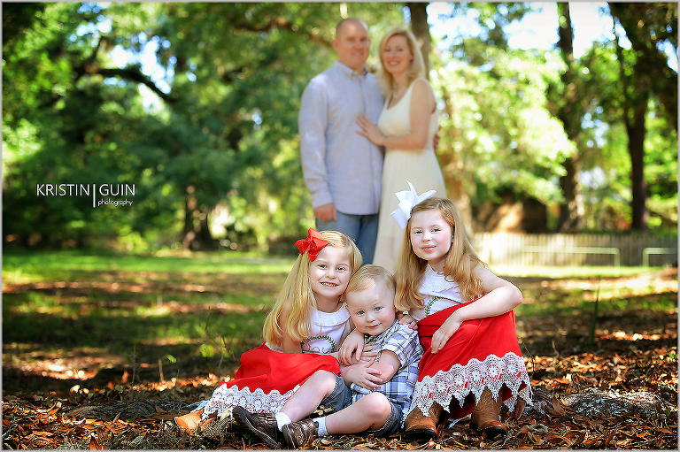 The Hawkins Family- Fairview-Riverside State Park in Madisonville