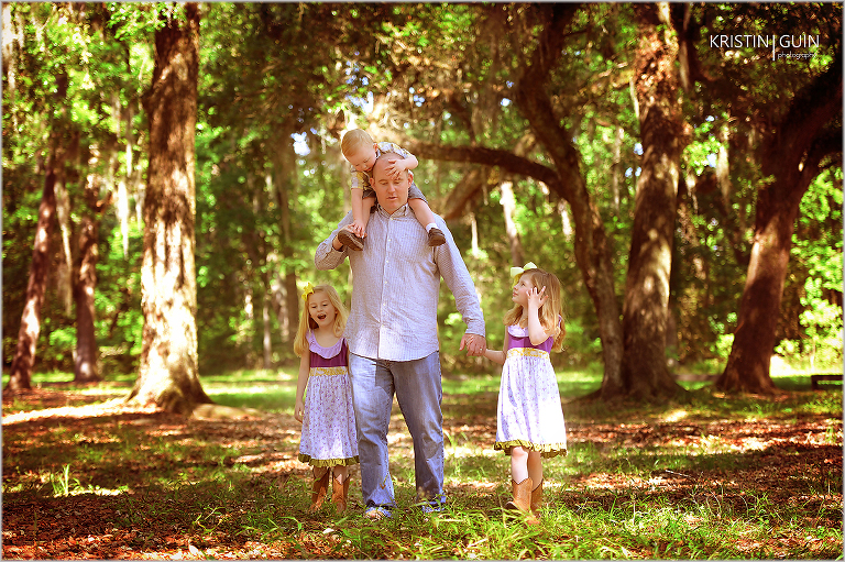 The Hawkins Family- Fairview-Riverside State Park in